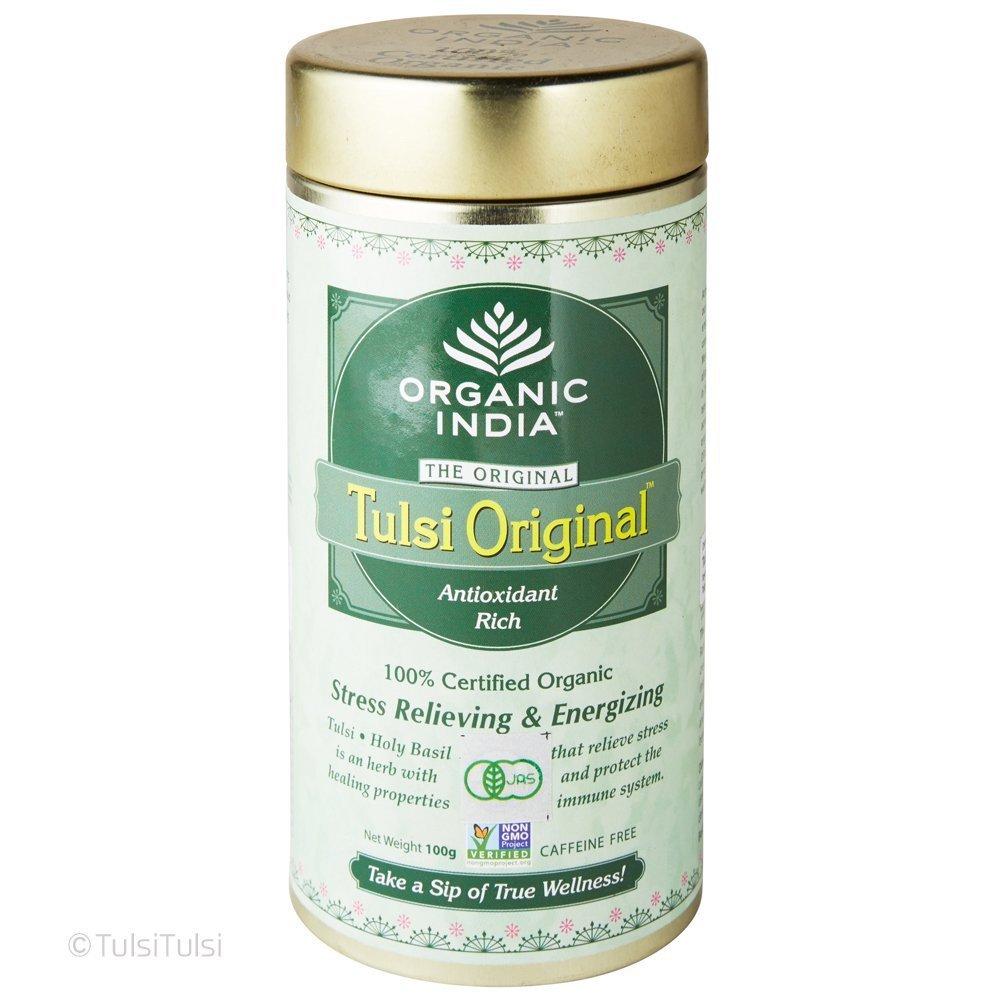 Organic Tulsi Tea - Loose Leaf - 100g