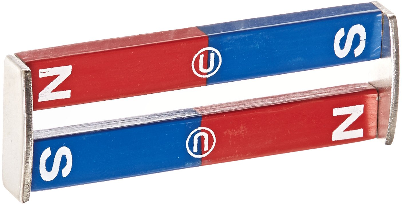 Delta Education N/S Painted Bar Magnet, 3'' Length (Pack of 2)