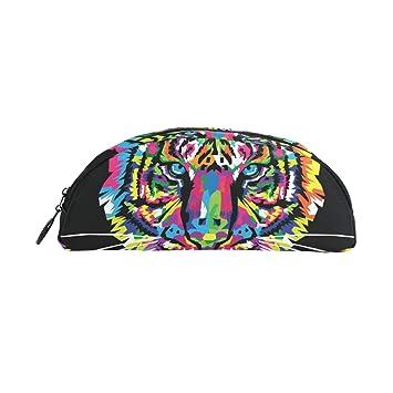 Montoj Color Art Tiger - Estuche organizador para lápices y ...