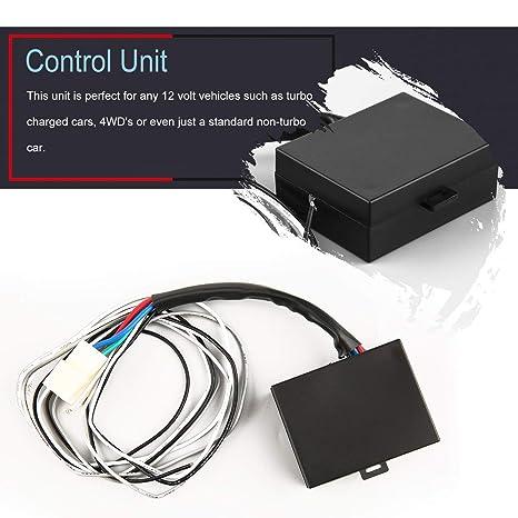 12 V Pantalla LED Digital Roja Programable Auto Car Turbo Timer Medidor de Vehículo Dispositivo Pen