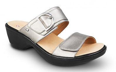 Revere Comfort Shoes London Adjustable Strap Sandal (Women's) nfmqg