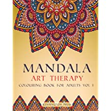 Mandala Art Therapy: Colouring Book for Adults