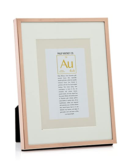 Philip Whitney 6x8/4x6 Picture Frame Thin Rose Gold: Amazon.ca: Home ...