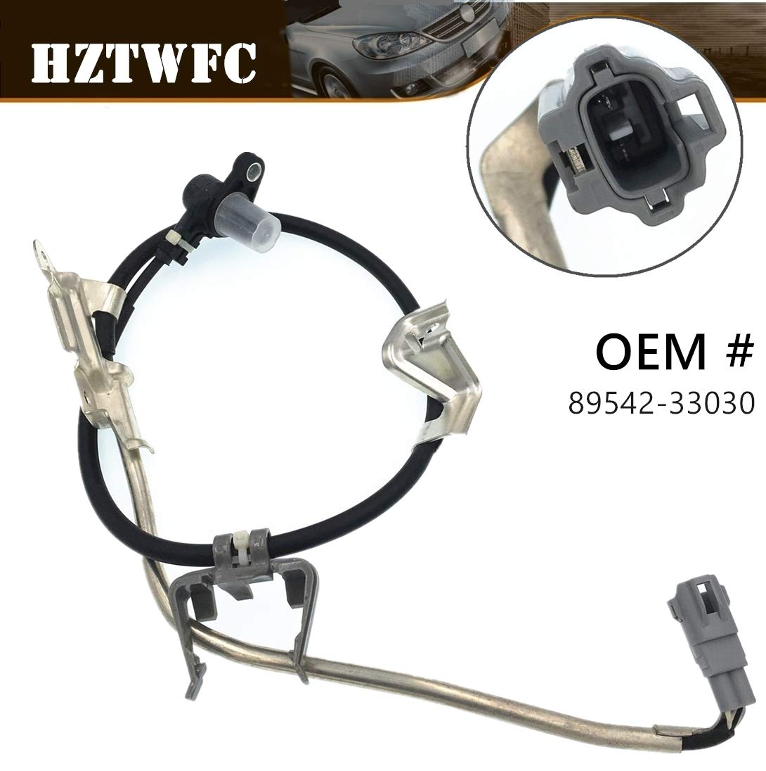 HZTWFC Front Right ABS Wheel Speed Sensor 89542-33030 Compatible for Toyota Camry Avalon Lexus