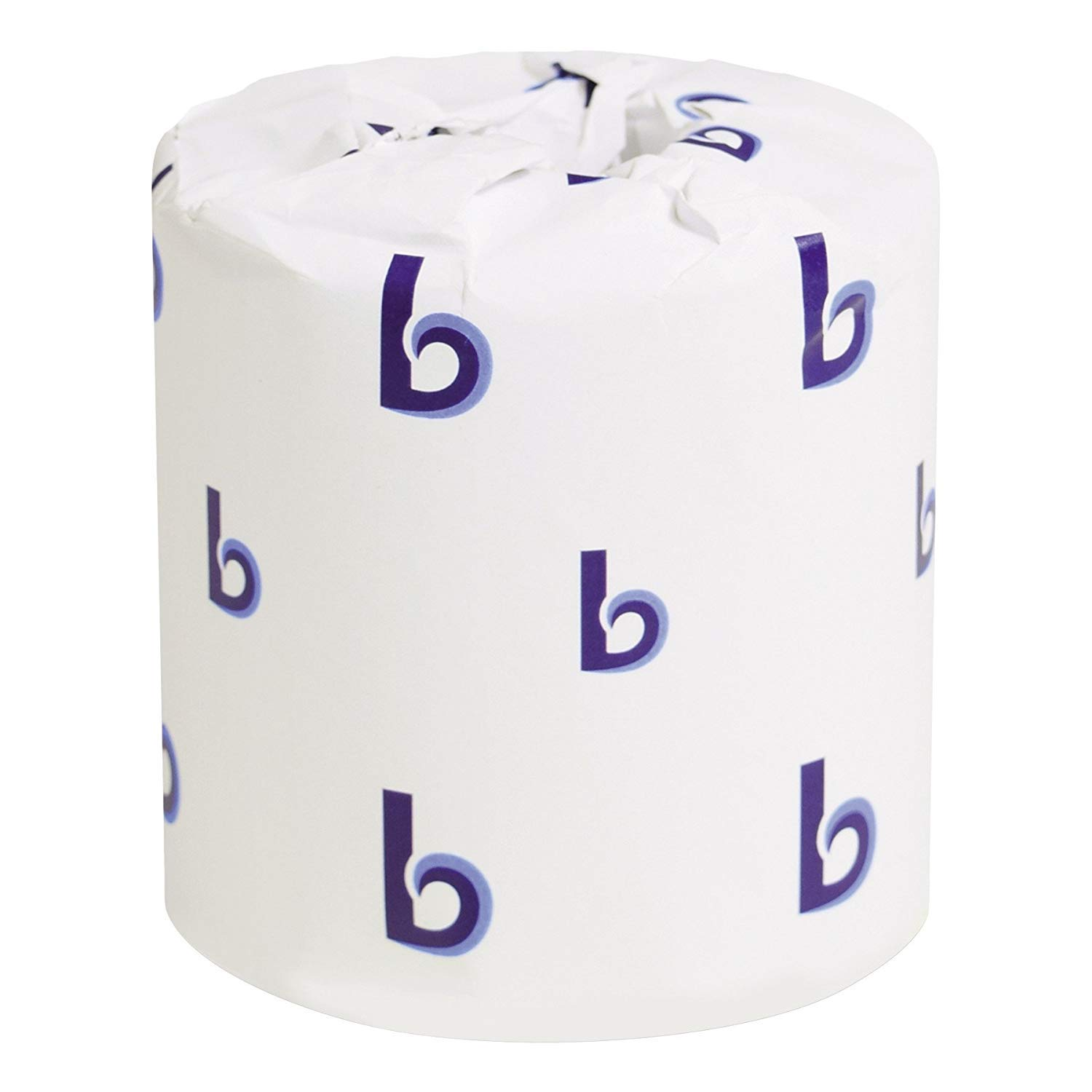 Boardwalk BWK6144 Two-Ply Toilet Tissue, White, 4'' x 3'' Sheet, 400 Sheets per Roll (Case of 96 Rolls) (.2 Case(96 Rolls))
