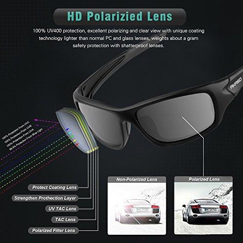 0a251dd1fea AKASO Polarized Sun shades for Guys   Women Sporting activities Sun ...