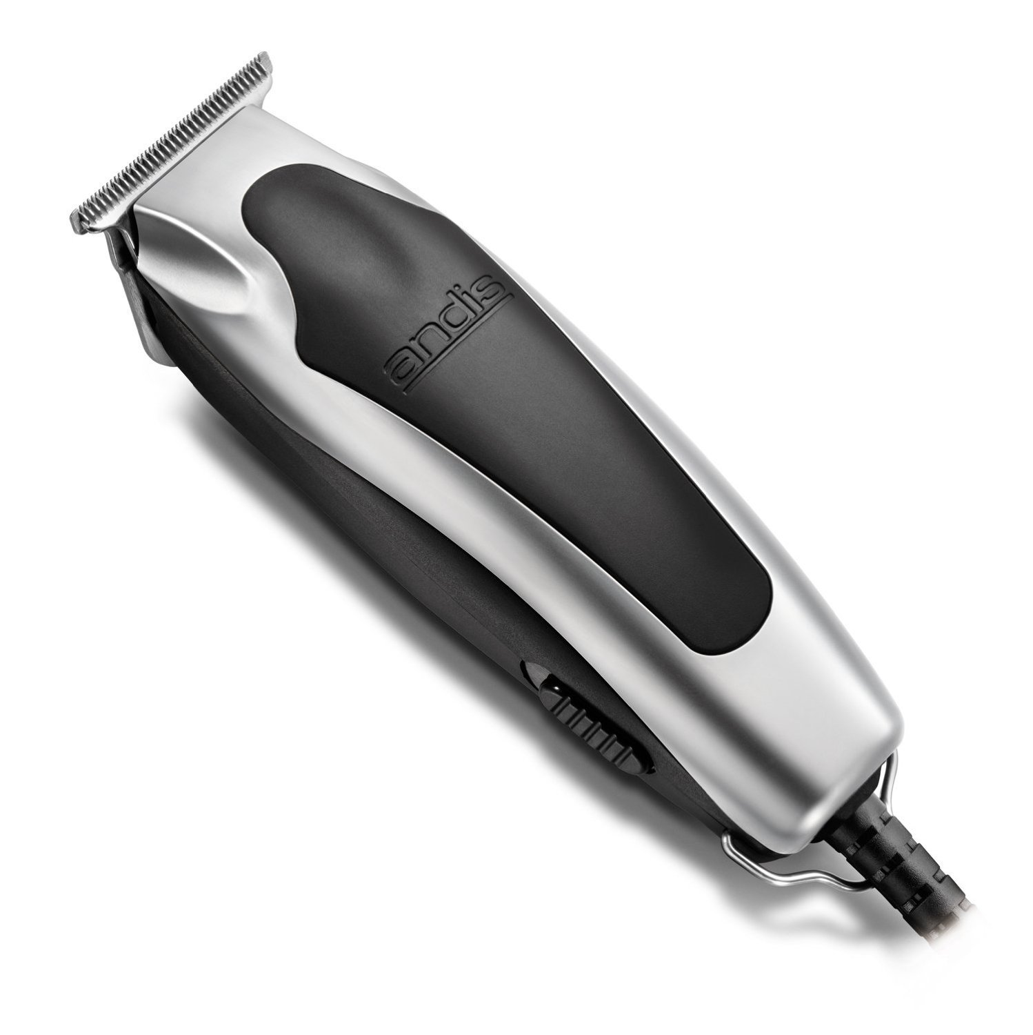 Andis Superline Professional Personal Electric Trimmer with T-Blade for Precision Cutting, Features Detachable Blades and Ergonomic Grip, Perfect for Outlining, Detailing, Shaving and Shaping with Extremely Powerful Yet Quiet Rotary Motor