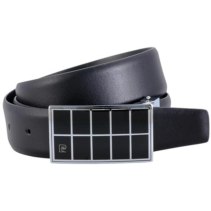 Pierre Cardin - Cinturón de cuero para hombre cinturones para hombre pierre  cardin 3eef6c75ece8