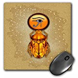3dRose LLC 8 x 8 x 0.25 Inches Mouse Pad, a Scarab Inspired by The Artworks and Beliefs of The Ancient Egyptians and The Jewelry They Wore (mp_11675_1)