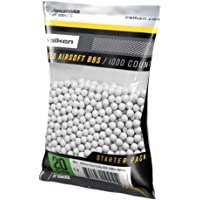 Valken Accelerate Airsoft BBS - White - 1,000 Count