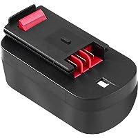 Reoben para Black&Decker Batería de Repuesto 18V 3.0Ah Ni-MH A18 A1718 HPB18 HPB18-OPE 244760-00 A18NH A18E Firestorm FSB18