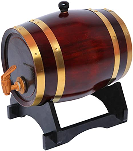 Unbranded 1.5L Roble/Madera/Madera/Barril de Vino Cerveza Whisky Ron Brewing Barriles de Puerto