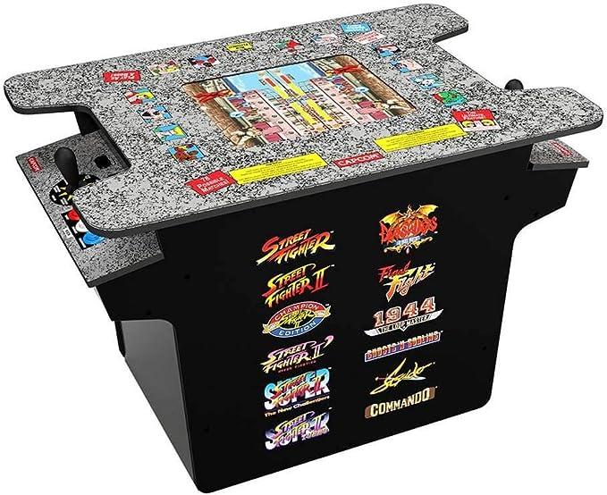 Arcade 1Up デラックス12-in-1 ヘッドツーヘッド カクテルテーブル
