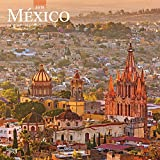 Mexico 2019 12 x 12 Inch Monthly Square Wall Calendar, Mexican America Scenic Nature (English and Spanish Edition)