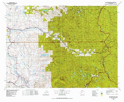 Malachite Eagle - Skykomish River WA topo map, 1:100000 scale, 30 X 60 Minute, Historical, 1975, updated 1977, 27.3 x 33 IN - Paper