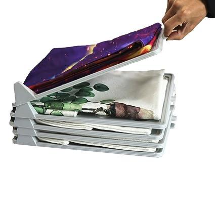 Mofeng Easy Tray T Shirt Closet Organizer Brilliant Makes Folding Storing  Laundry