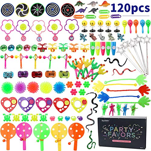 Amy & Benton Assorted Prizes Toys Gifts for Kids Birthday Party Favors Goody Bag Pinata Fillers Carnival Prizes Box Toys for Classroom -