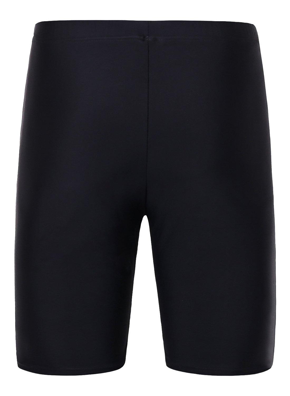 Avellara Womens long swim shorts for women Solid swim shorts for women by Avellara (Image #2)