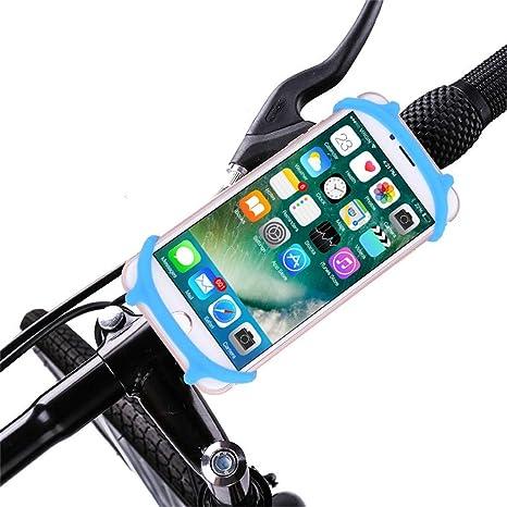 SMILEQ Bicicleta Motocicleta Bicicleta Soporte para teléfono con ...