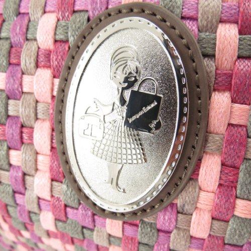 'Jacques rosa Bolso vintage Esterel' trenzado 5wxnqRPT4