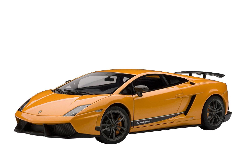 Lamborghini Gallardo LP570-4 Superleggera 2010 metallic Orange AutoArt 1:18