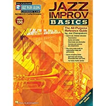Jazz improv basics: The All-Purpose Reference Guide Jazz Play-Along, Vol. 150