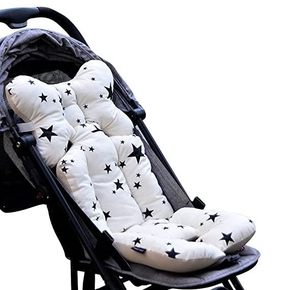 HIFUAR Stroller High Chair Seat Cushion Liner Mat Pad Protector Car Seat Padding Liner for Baby