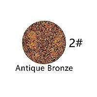 Niome 8 Color 2g Lash Glitter Highlight Eyeshadow Powder Matte Glitter Nude Eye Shadow Press Palette DIY Makeup 2# Antique Bronze