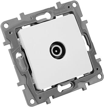 TV Antena Enchufe 5 dB 5 – 862 MHz Blanco toma de rendimiento ...