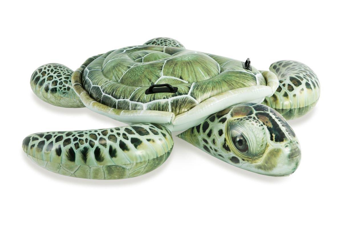 Kinderbadespaß Pool Schwimmtier Schildkröte Planschbecken Reittier