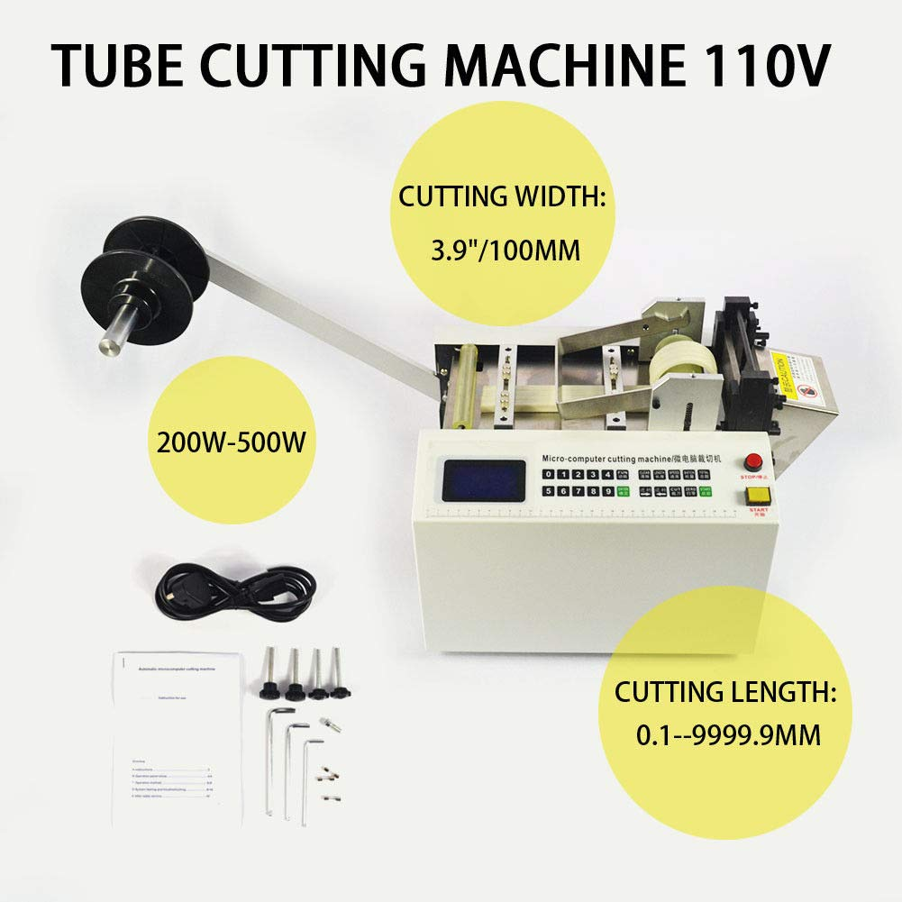 110V 200W-500W Heat-shrink Tube Pipe Cable Cutter Cutting Machine