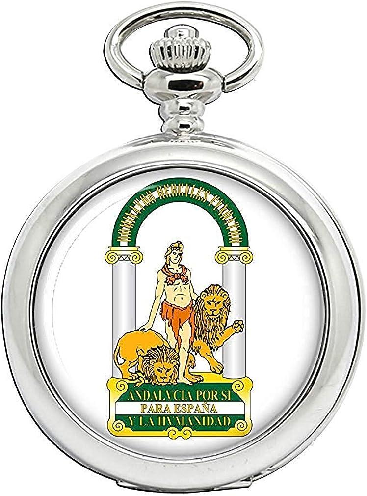Andalucía Andalucía (España) Full Hunter reloj de bolsillo: Amazon.es: Relojes