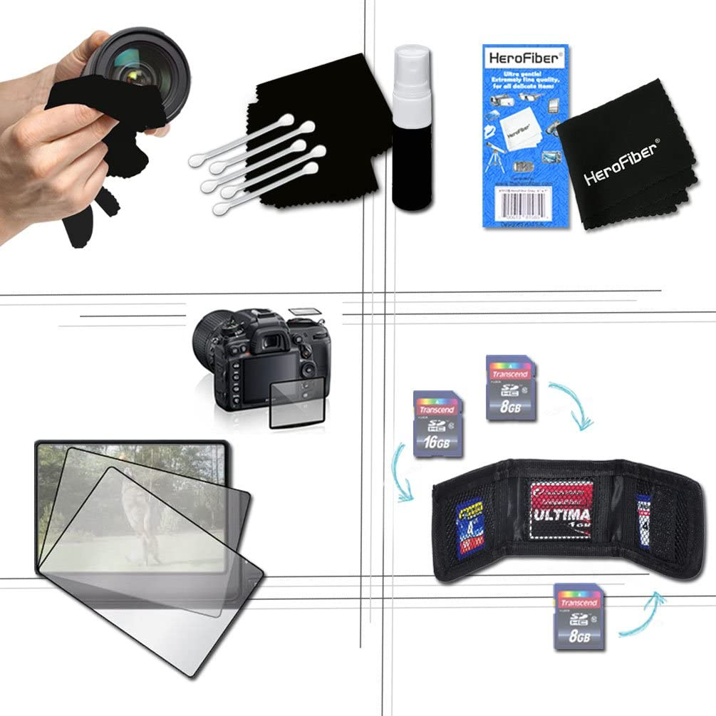 64GB Accessory Kit for Canon PowerShot ELPH 360 HS NB-11L Battery ELPH 180 Includes 64GB High-Speed Memory Card ELPH 340 HS Kit Fitted Case AC//DC Charger ELPH 170 Elph 190 is ELPH 350 HS