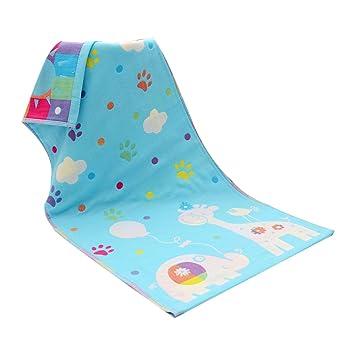 Newin Star Toallas bebé,Muselinas de algodón para bebé,Mantas de Muselina Suave y cómodo con Dibujo Animado para bebé(Ciervo Azul): Amazon.es: Electrónica
