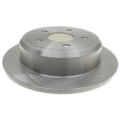 ACDelco 18A2465A Advantage Non-Coated Rear Disc Brake Rotor: Automotive