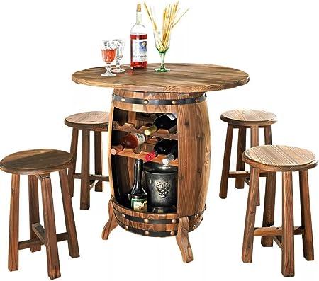 Mobili Da Giardino Set Vino Tavolo Con Sgabello Vino Botte Da Giardino 82 X 80 Cm B Ware 5678 Amazon It Casa E Cucina