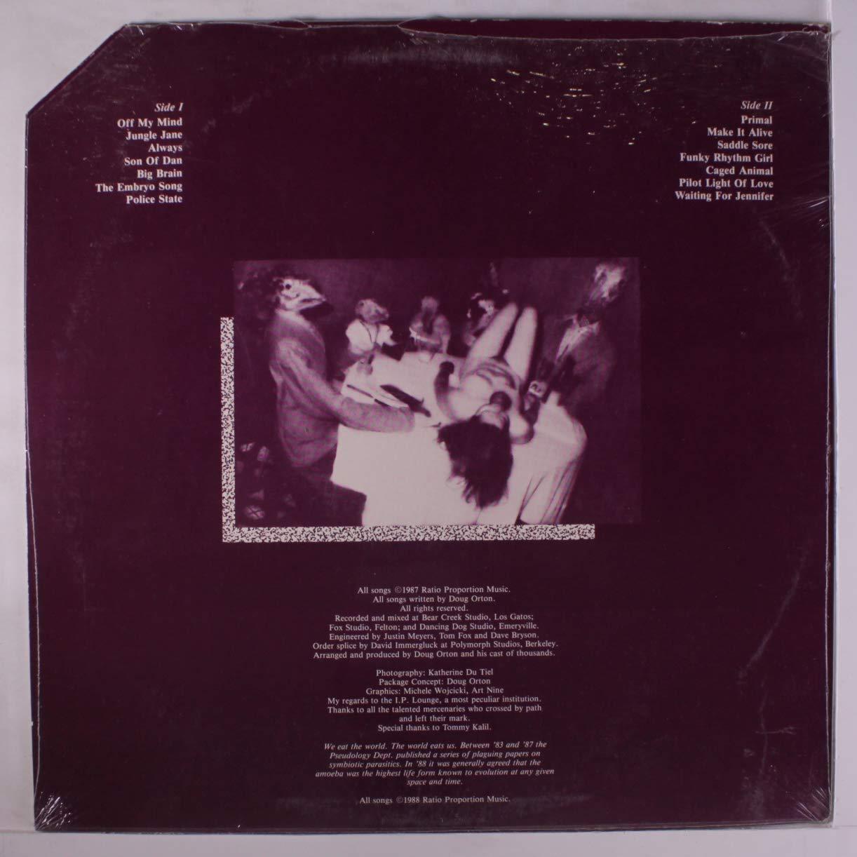 DOUG ORTON - attic tapes LP - Amazon.com Music