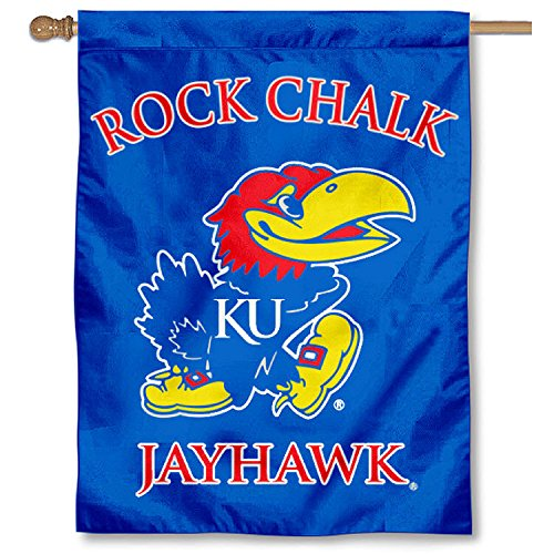 Kansas Jayhawks House (Kansas Jayhawks Banner House Flag)