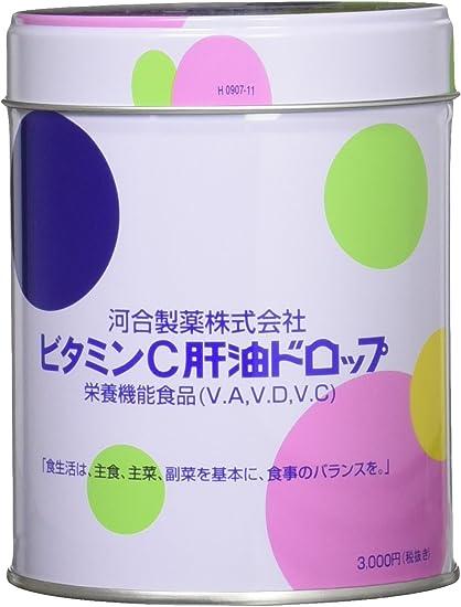 ドロップ 肝油 ビタミン c