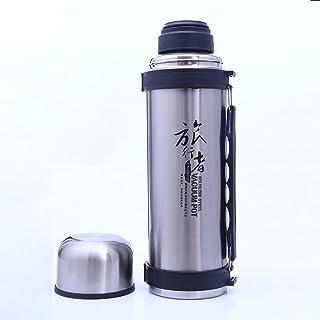 GRSB Bottiglia Termica,Thermos 1.8L Thermocup Vuoto Thermos Thermos Bottiglia di Acqua Coppe Isolate Tazza di Viaggio Thermos in Acciaio Inox per Bollitore di tè