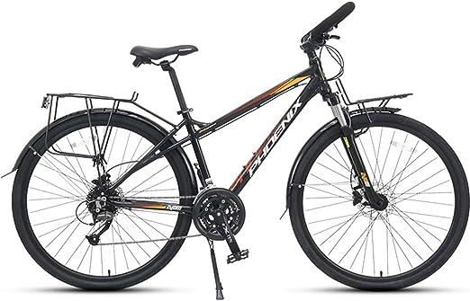NENGGE 27 Velocidades Bicicleta de Carretera, 700C Neumáticos ...