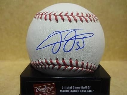 Frank Thomas Chicago White Sox Leaf Authentics Signed Ml Baseball
