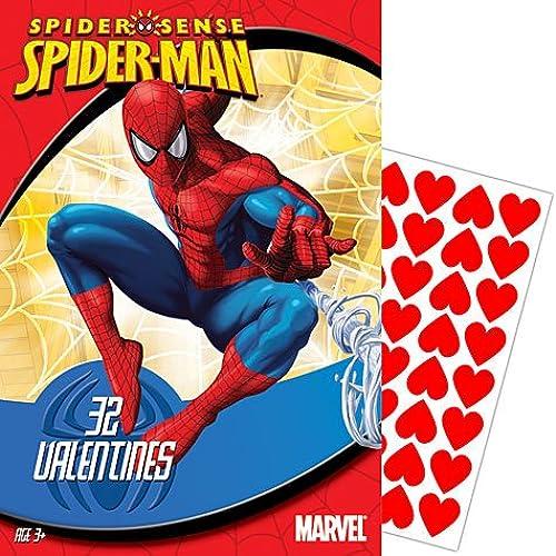 Spiderman Valentine's Day Cards 32ct Sales