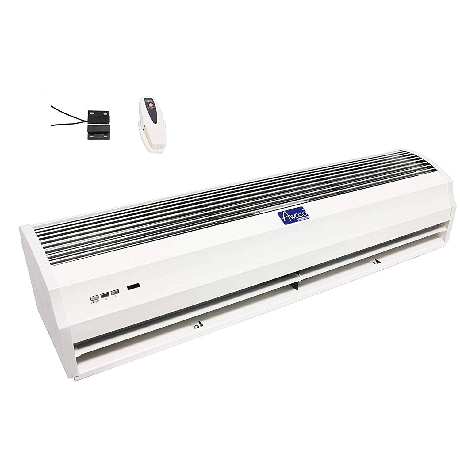 Awoco 36 Elegant 2 Speeds 900 CFM Indoor Air Curtain with an Easy-Install Magnetic Door Switch