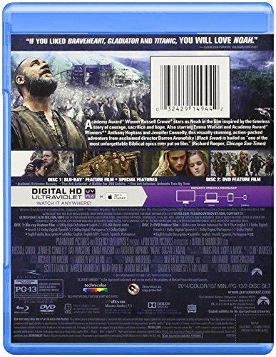 032429149442 - Noah (Blu-ray + DVD + Digital HD) carousel main 1