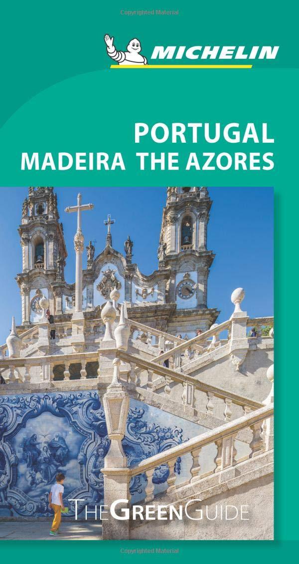 Portugal Green Guide La Guía Verde Michelin Idioma Inglés: Amazon ...