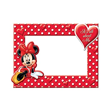 Amazon.com - Disney Minnie Mouse All About Me Picture Frame - Single ...