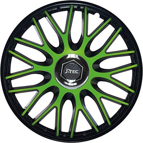 15 Inches Brand new car 13 14 15 16 Veron Carbon Silver/&Black wheel trims//hub caps full set of 4