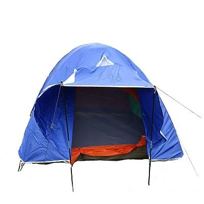 3 à 4 Personnes Tentes De Camping En Plein Air,Blue-L