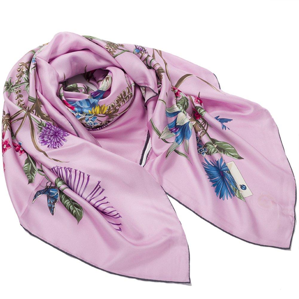 Silk scarf Silkworm silk scarves Shawl Scarf bandana-A One Size by Sweet costume (Image #1)